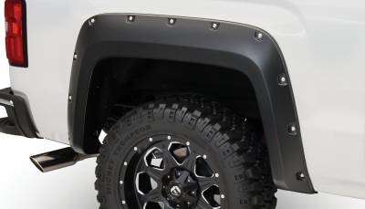 Exterior - Fender Flares - Bushwacker - Bushwacker FENDER FLARES POCKET STYLE 2PC 40122-02