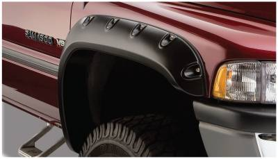 Exterior - Fender Flares - Bushwacker - Bushwacker FENDER FLARES POCKET STYLE 2PC 50029-02