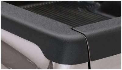 Exterior - Truck Bed Side Rail Protectors - Bushwacker - Bushwacker BED RAIL CAPS 58511