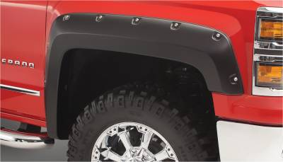 Exterior - Fender Flares - Bushwacker - Bushwacker FENDER FLARES POCKET STYLE 2PC 40119-02