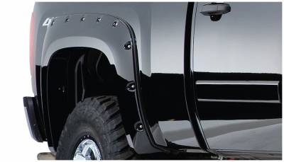 Exterior - Fender Flares - Bushwacker - Bushwacker FENDER FLARES POCKET STYLE 2PC 40092-02