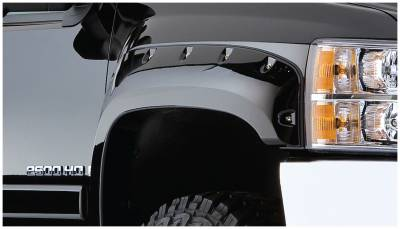 Exterior - Fender Flares - Bushwacker - Bushwacker FENDER FLARES POCKET STYLE 2PC 40087-02