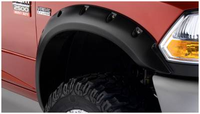 Exterior - Fender Flares - Bushwacker - Bushwacker FENDER FLARES POCKET STYLE 2PC 50047-02