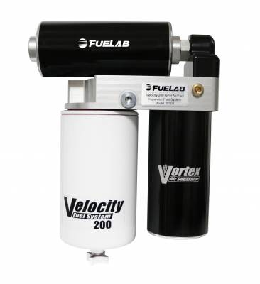 FUEL INJECTION SYSTEM - LIFT PUMPS - Fuelab - Fuelab Velocity Series 200GPH 8psi Duramax 30304
