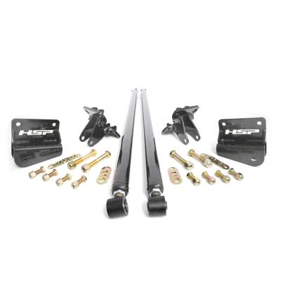 "OLD - CHEVY/GMC DURAMAX - 2006 - 2007 6.6L LLY/LBZ - HSP Diesel -  2001-2010 Chevrolet / GMC 58"" Bolt On Traction Bars 3.5"" Axle Diameter (Raw)  LB7, LLY, LBZ, LMM"