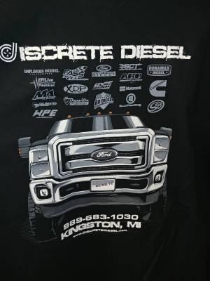 APPAREL - Discrete Diesel and Performance - Discrete Diesel Truck Hoodie