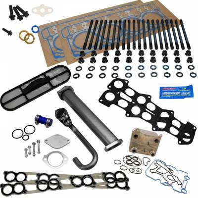 ENGINE & PERFORMANCE - POWERSTROKE SOLUTION KITS - Discrete Diesel and Performance - Discrete Diesel Complete Solution Kit