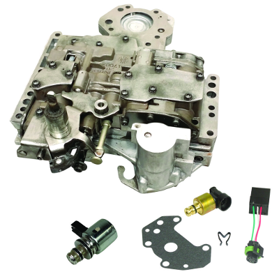 SHOP BY PART - Valve Bodies - BD Diesel - BD Diesel Valve Body - 2003-2007 Dodge 48RE c/w Governor Pressure Solenoid & Transducer 1030423E