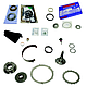 TRANSMISSION PARTS - AUTOMATIC COMPONENTS & OVERHAUL KITS - BD Diesel - BD Diesel Built-It Trans Kit Ford 1995-1997 E4OD Stage 4 Master Rebuild Kit 2wd 1062114-2