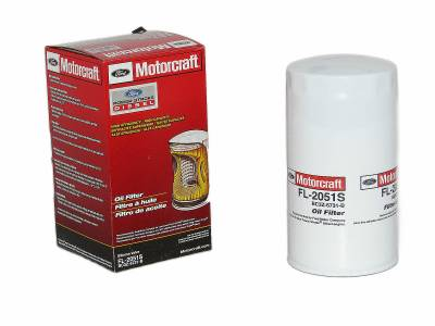 ENGINE & PERFORMANCE - FLUIDS & FILTERS - Ford/Motorcraft - Ford Motorcraft FL-2051S Oil Filter