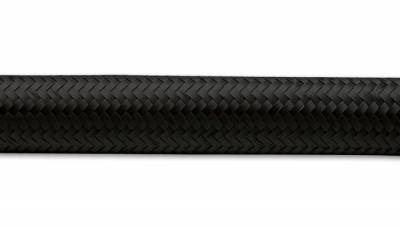 Fuel System - Lines & Hoses - HSP Diesel - HSP Diesel #1503-HSP - -6AN Black Nylon Braided Hose - 5'