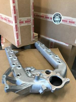 ENGINE & PERFORMANCE - AIR INSTAKE SYSTEMS - O Dawgs Diesel - ODAWGS S2R 6.0 PORTED INTAKE MANIFOLD