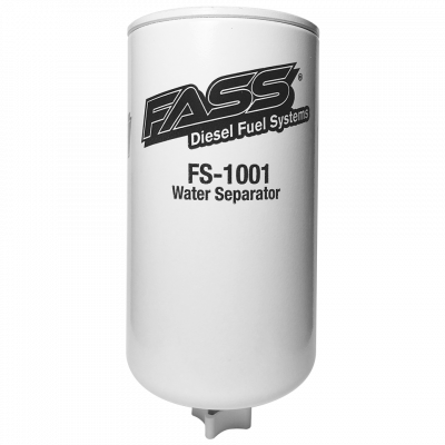 FASS Fuel Systems - FASS Fuel Systems FS-1001 Titanium Water Separator (Grey Model)