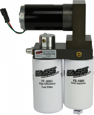 FUEL INJECTION SYSTEM - LIFT PUMPS - FASS Fuel Systems - FASS Fuel Systems T C10 220G Titanium Fuel Pump 2001-2016 Duramax