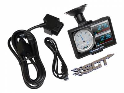 INTERIOR - DIGITAL MONITORS - SCT Performance - SCT LIVEWIRE 5015P TS PROGRAMMER & MONITOR | 96-15 FORD VEHICLES