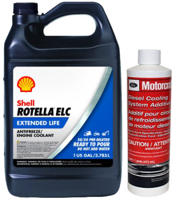 ENGINE & PERFORMANCE - FLUIDS & FILTERS - COOLANT & ADDITIVE