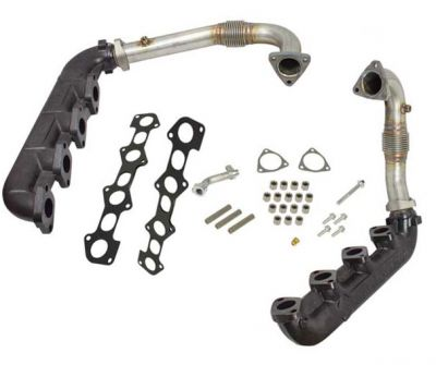 ENGINE & PERFORMANCE - EXHAUST COMPONETS - EXHAUST MANIFOLDS & UP-PIPES