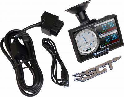SHOP BY PART - Chips, Tuners, and Monitors - SCT Performance - Livewire TS Performance Programmer and Monitor for GM Vehicles