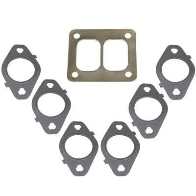 SHOP BY PART - Exhaust Manifolds - BD Diesel - BD Diesel Gasket Set, Exhaust Manifold T4 Mount -  Dodge 1998.5-2018 5.9L/6.7L 1045986-T4